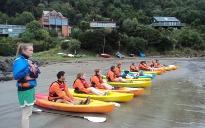 C Block Kayak Trips 3rd, 5th and 6th April