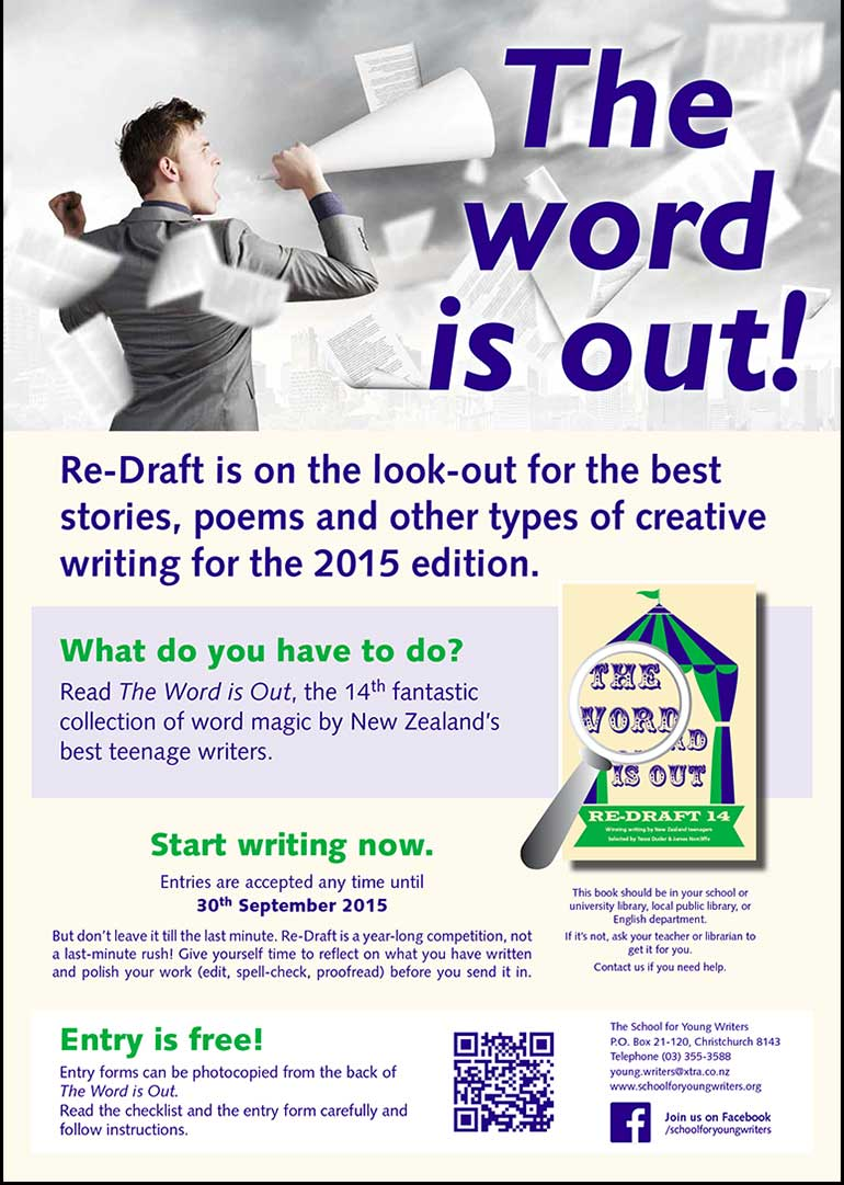 Essay writing competition nz
