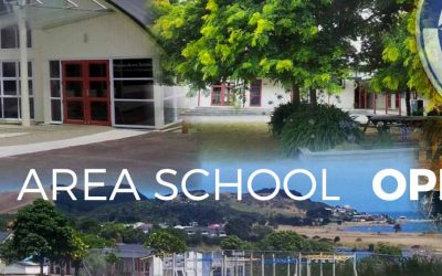 Raglan Area School Open Day 28th June