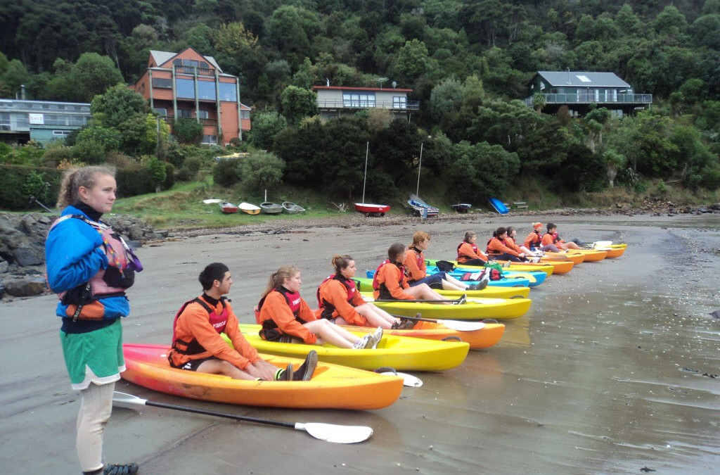 C Block Kayak Trips 3rd, 5th and 6th April