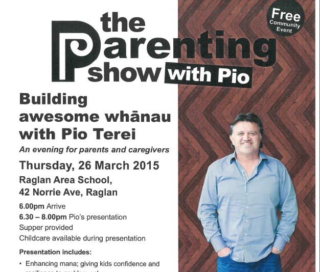 Free event for Parents – The Parenting Show with Pio