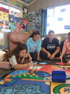 Rumaki-students-making-art