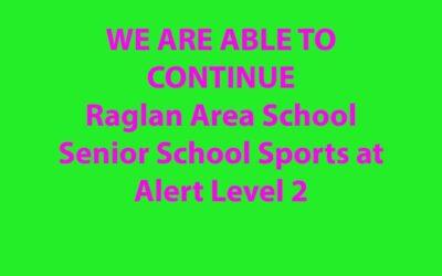 Raglan Area School Senior School Sports