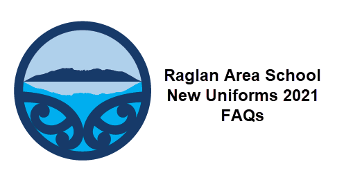 Our new Raglan Area School Uniform; your initial questions answered